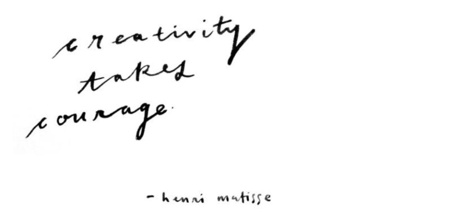 Creativity+takes+courage+