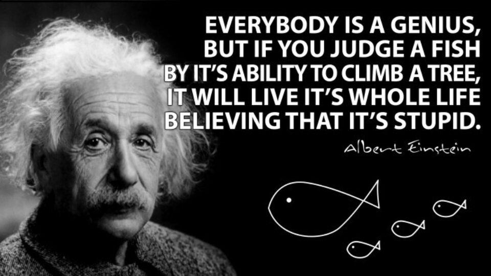 Albert Einstein Self Confidence Quote Wondrlust