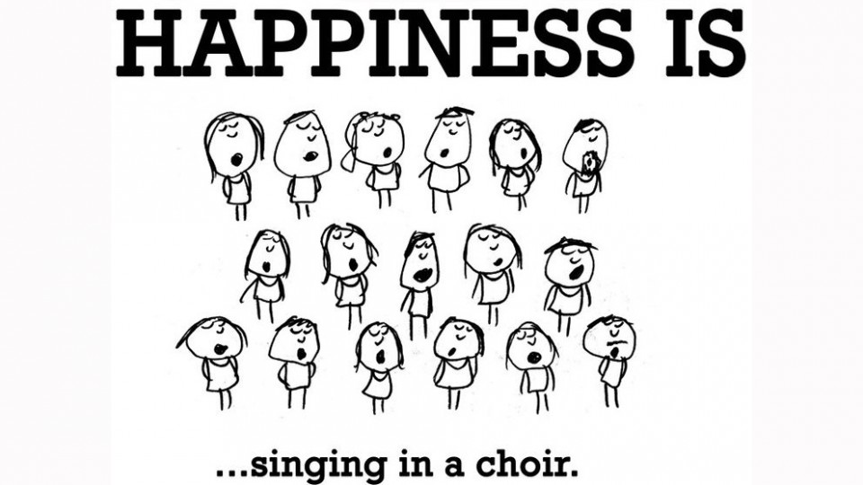 Happiness Is Singing In A Choir Wondrlust