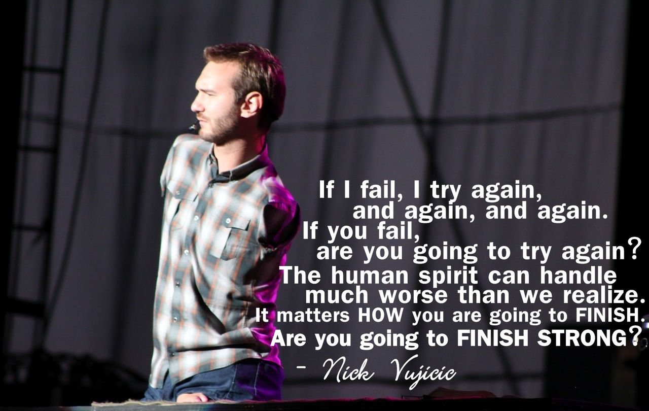 never give up nick vujicic wondrlust