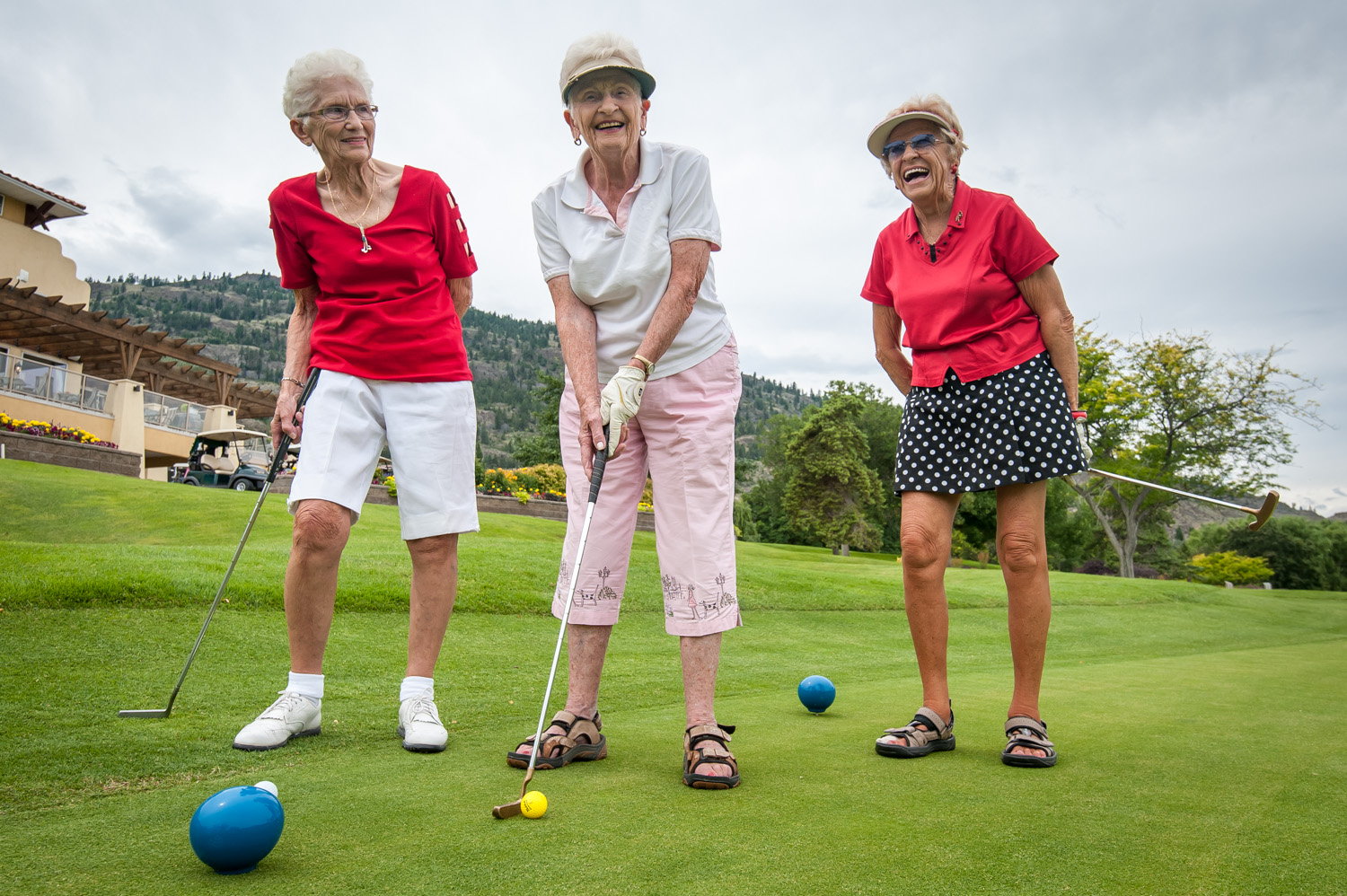 Image result for old men golfing