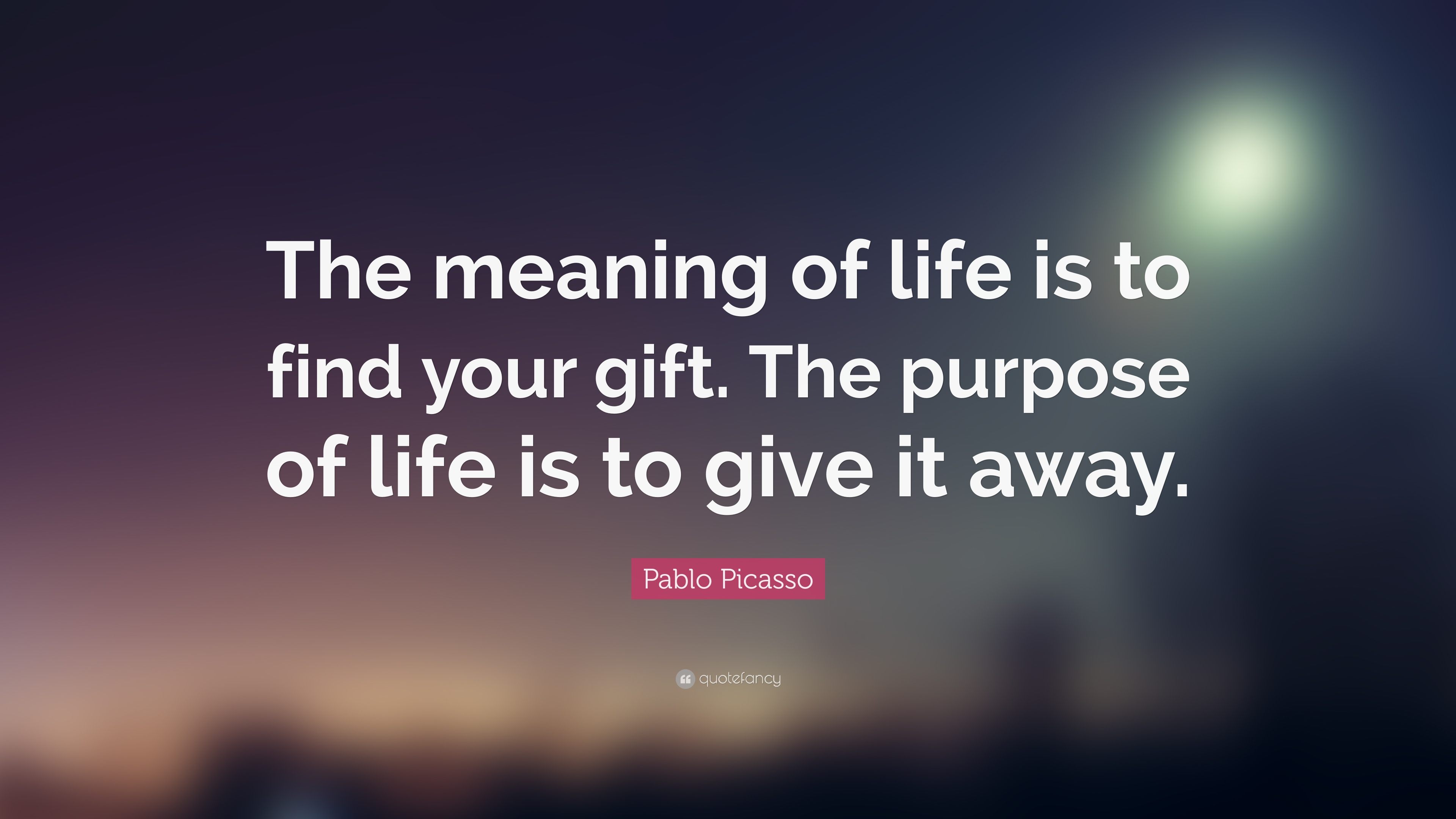 meaning of life I believe the meaning of life is to give life a meaning throughout my entire life, i have wondered.