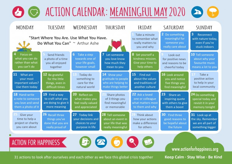 may meaning calender